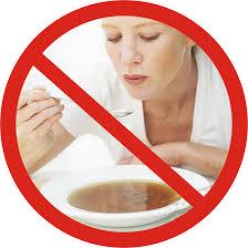 jangan meniup makanan panas