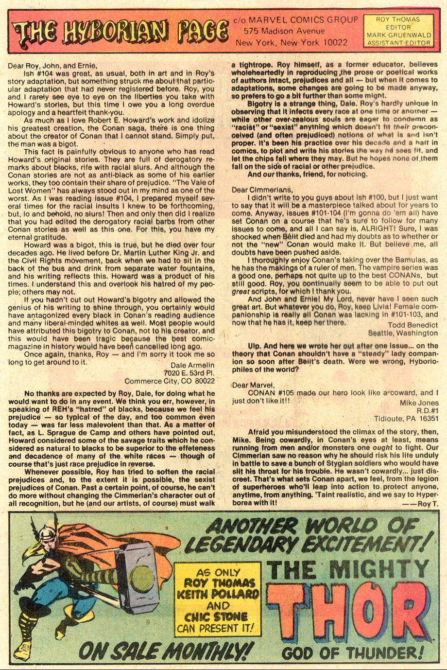 Conan the Barbarian (1970) Issue #110 #122 - English 22
