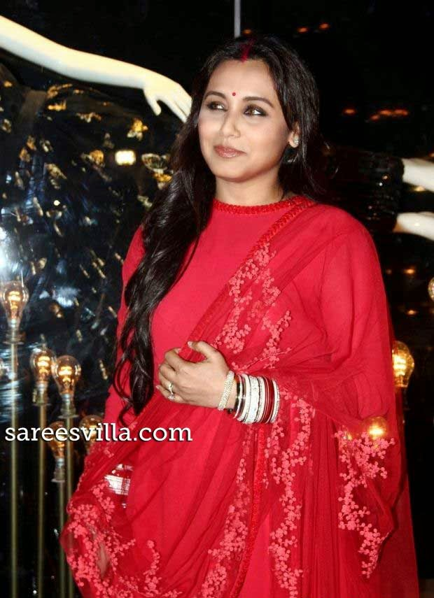 Rani Mukherjee in Sabyasachi