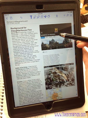 Notability app: Embed videos, images, web links into any document