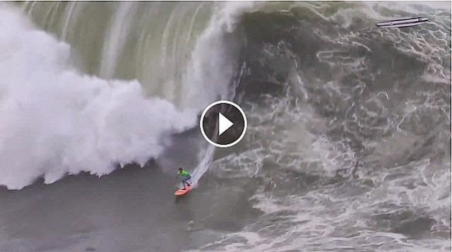 Nic Lamb at Punta Galea - 2015 Billabong Ride of the Year Entry - XXL Big Wave Awards