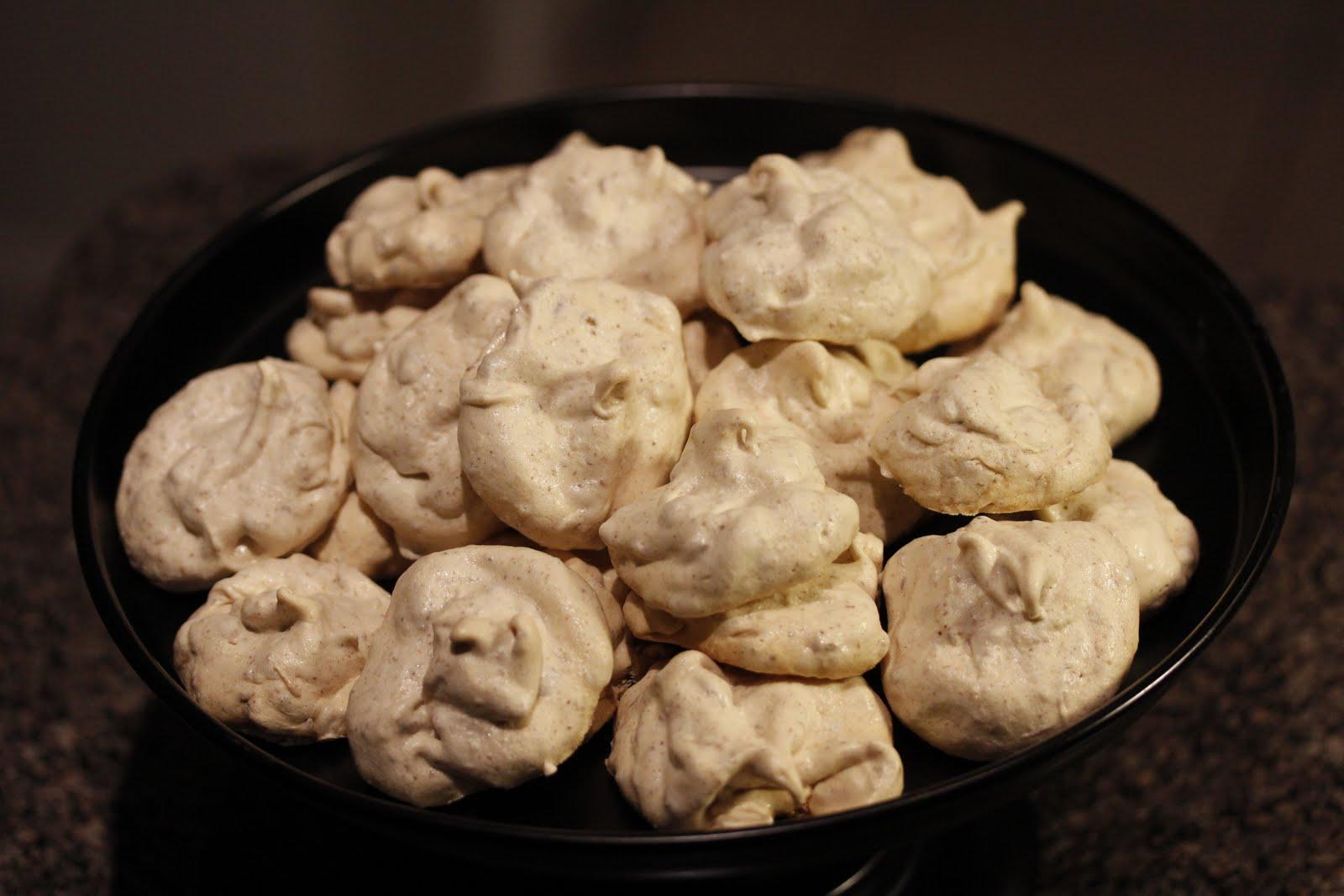 salt and love: pecan meringue cookies