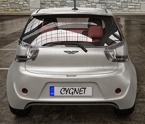 Aston Martin Cygnet 2013