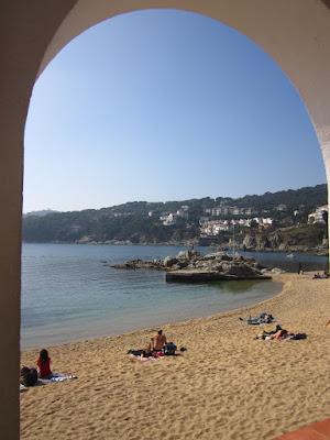 Port Bo Beach in Calella de Palafrugell