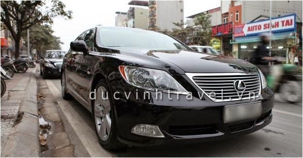 Cho thuê xe cưới VIP Lexus LS460 tại Hà Nội
