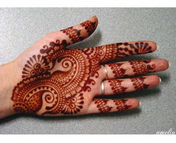 Mehndi Designs Hands Arabic Latest : Latest arabic mehndi designs images