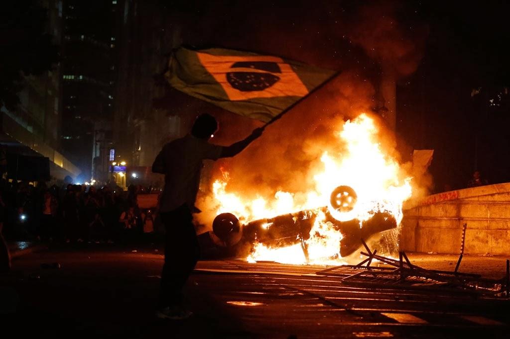 RIOTS-BRAZIL