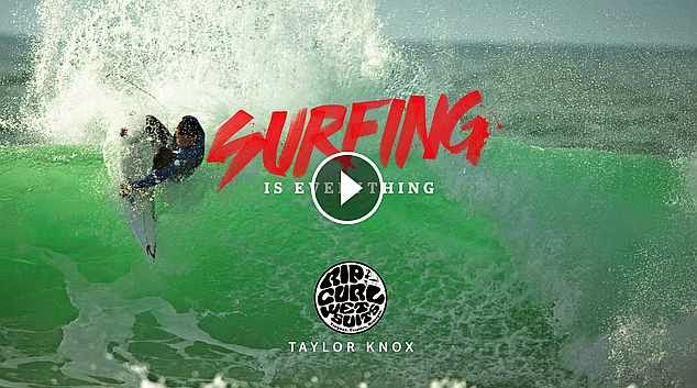 Surfing is Everything Taylor Knox