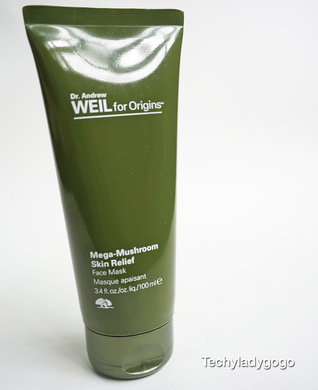 Dr Andrew Weil for Origins Mega-Mushroom Skin Relief Face mask