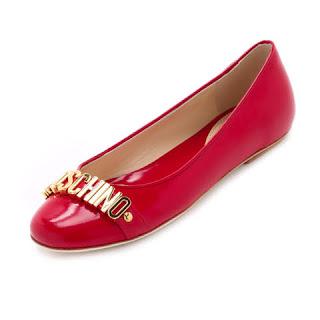 moschino sapatilha vermelha