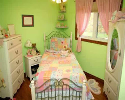 Green Color For Girls Bedroom