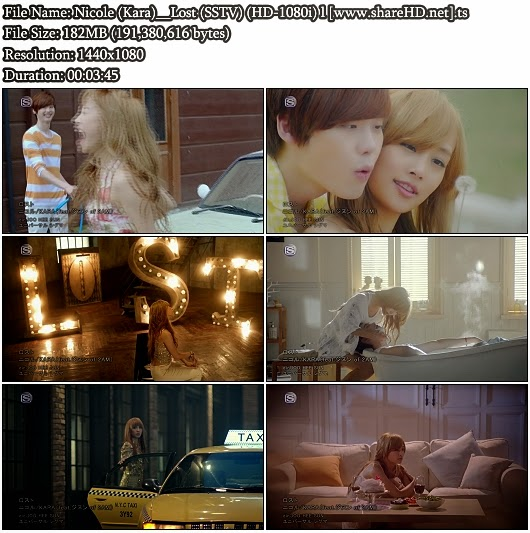 Download PV Nicole (Kara) - Lost (SSTV Full HD 1080i)