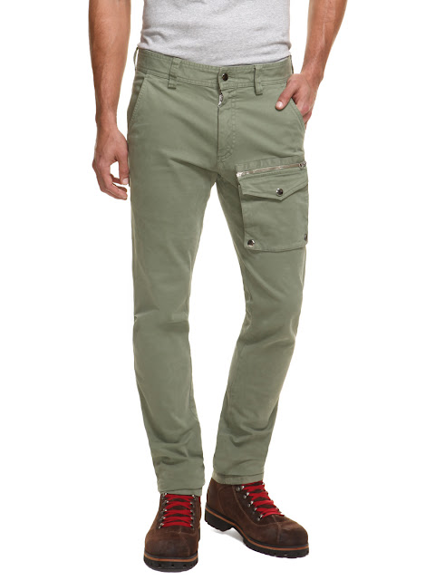 Michael Bastian Snap Zip Cargo Pants