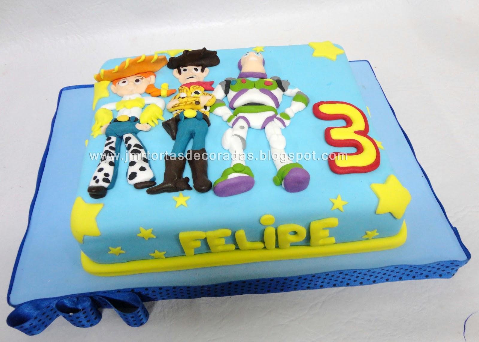 Torta Toy Story Jmr Tortas Decoradas