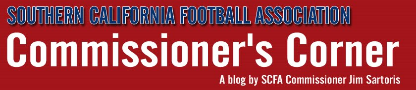 Southern California Football Association - Commissioner's Corner