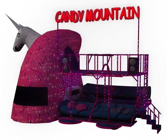 Help Charlie The Unicorn Art Car Go to Burning Man