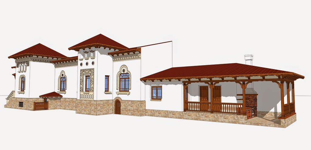 arhitect neoromanesc, stil, stiluri romanesti