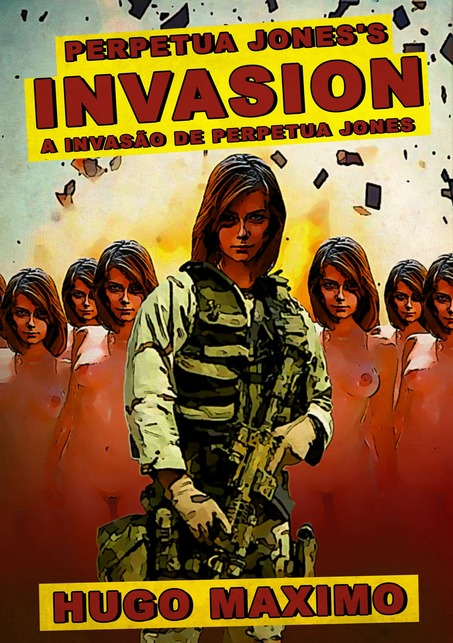 Livro Perpetua Jones's Invasion