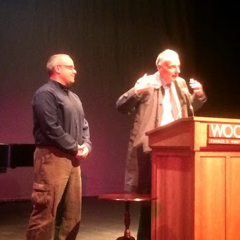 Ralph Nader Stumps for Funiciello During Glens Falls Visit