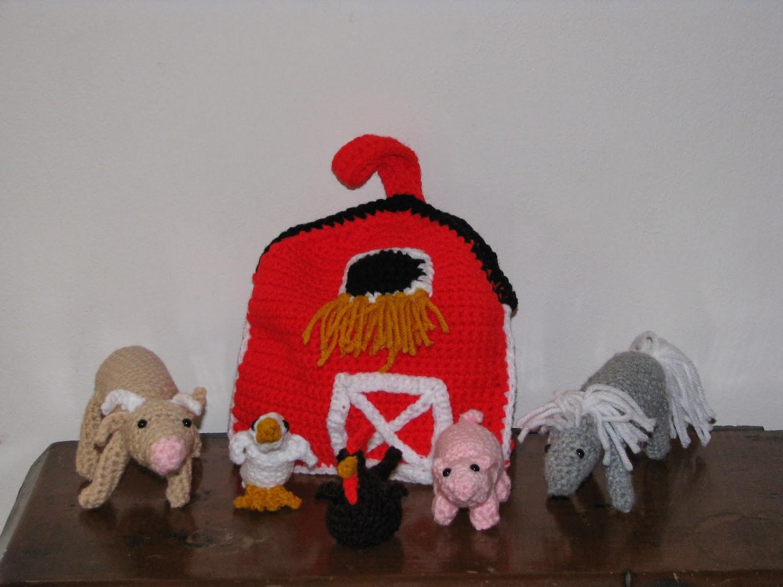 Free Crochet Pattern Farm Animals : Craft Attic Resources: Barnyard Amigurmi from Crochet Today