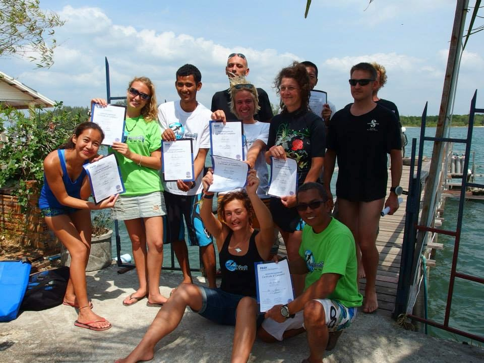 Instructor Development Course, Koh Lanta, Krabi
