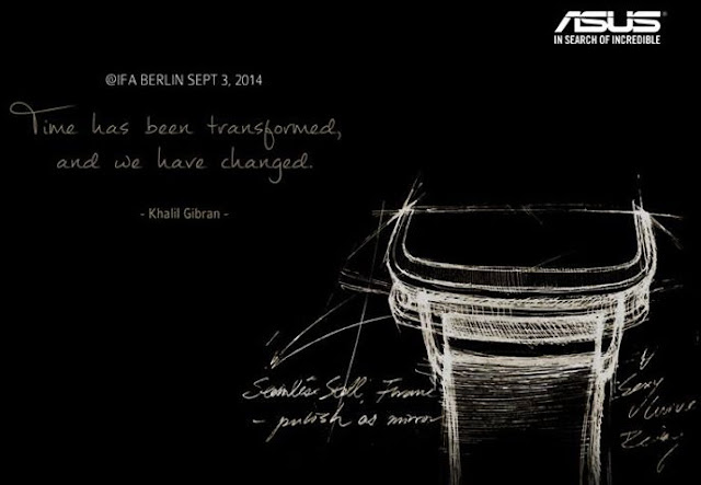 Asus Smartwatch IFA Teaser