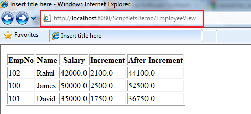 where to define application init parameters
