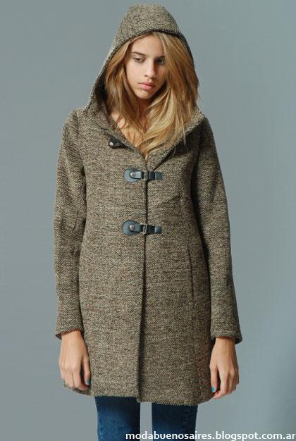 Sacos de mujer moda invierno 2013 Victoria Jess