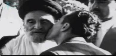 بوسه شاهانه و تشکر از همکاری برای کودتای ۲۸ مرداد برّ گونه جهل و وپسگرأیی!!!!
