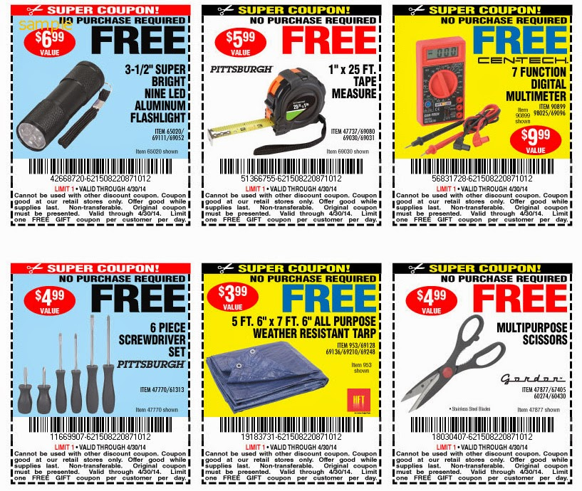 Harbor freight printable coupons