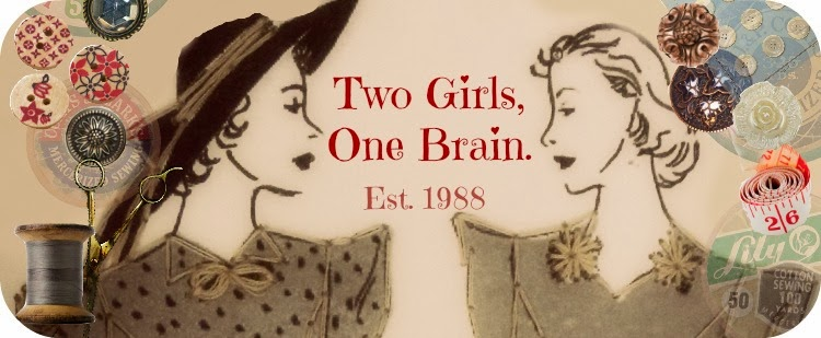 Two girls, one brain