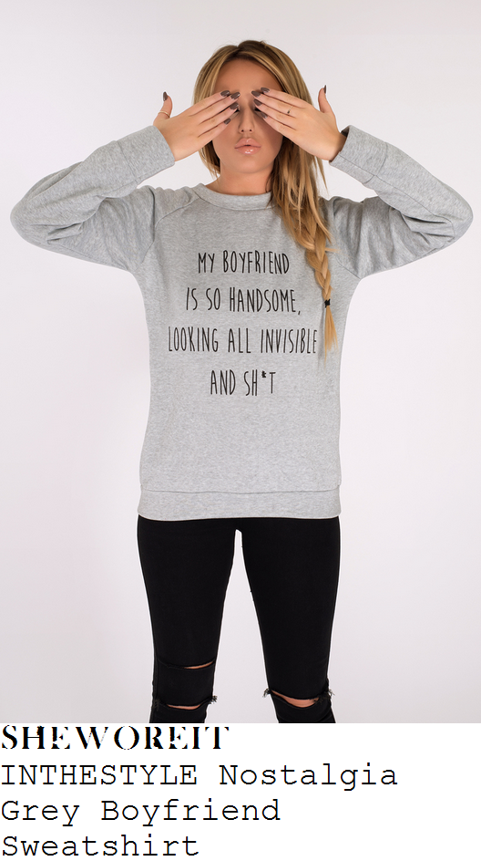 charlotte-crosby-grey-black-my-boyfriend-is-so-handsome-slogan-print-sweatshirt-instagram