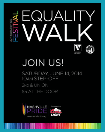 Nashville LGBT Gay Pride Equality Walk