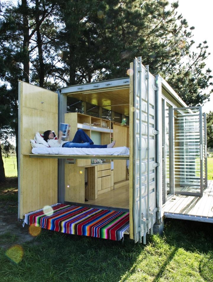 Port-a-Bach: residência para a massa