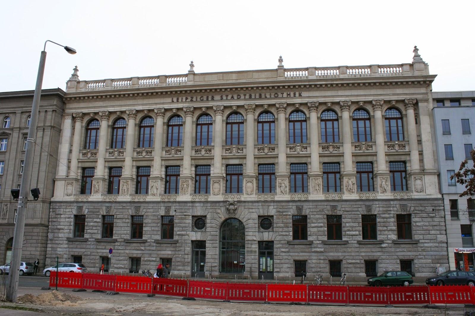 Stadtbibliothek, früher Altes Grassimuseum