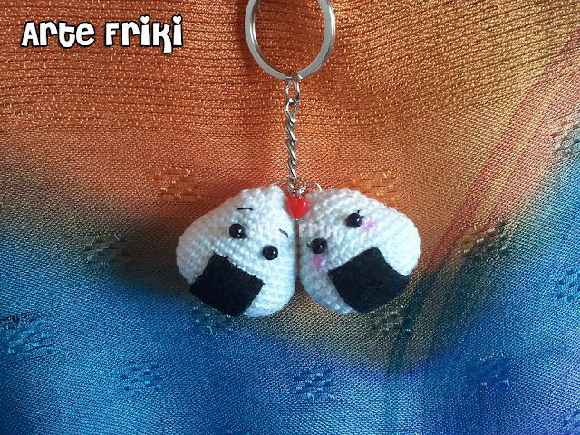 onigiri amigurumi crochet ganchillo japanese food