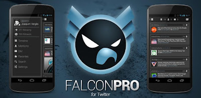 Android Application - Falcon Pro (for Twitter)