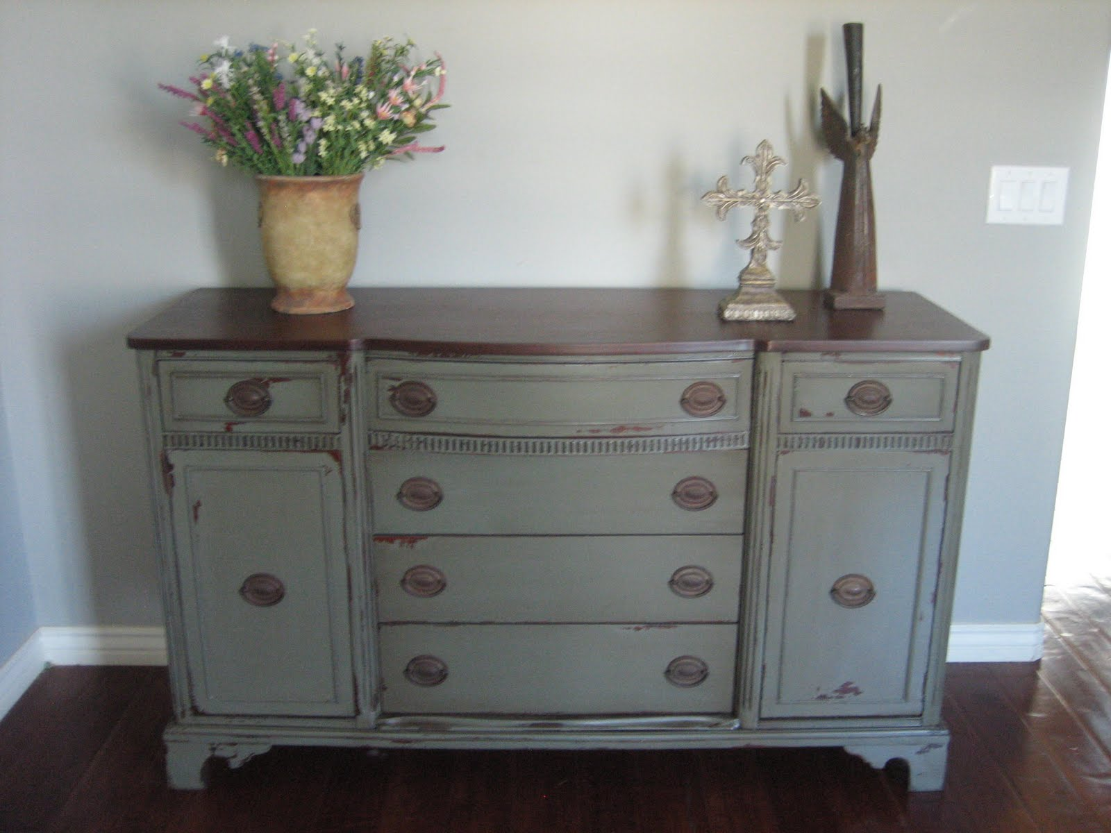 Painted buffet table furniture - European Paint Finishes