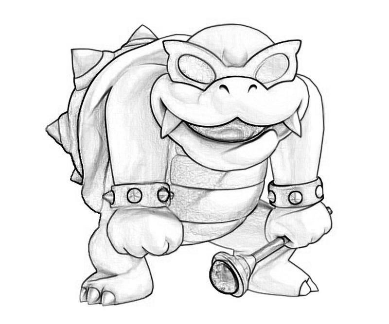 Roy Koopa Character Tubing