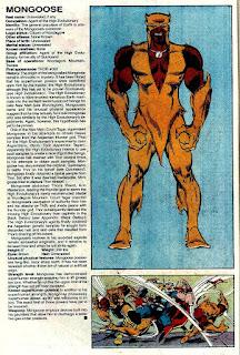 Mangosta (ficha marvel comics)