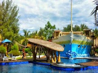Hotel Bagus Murah di Gili Trawangan Lombok Mulai Rp 200rb