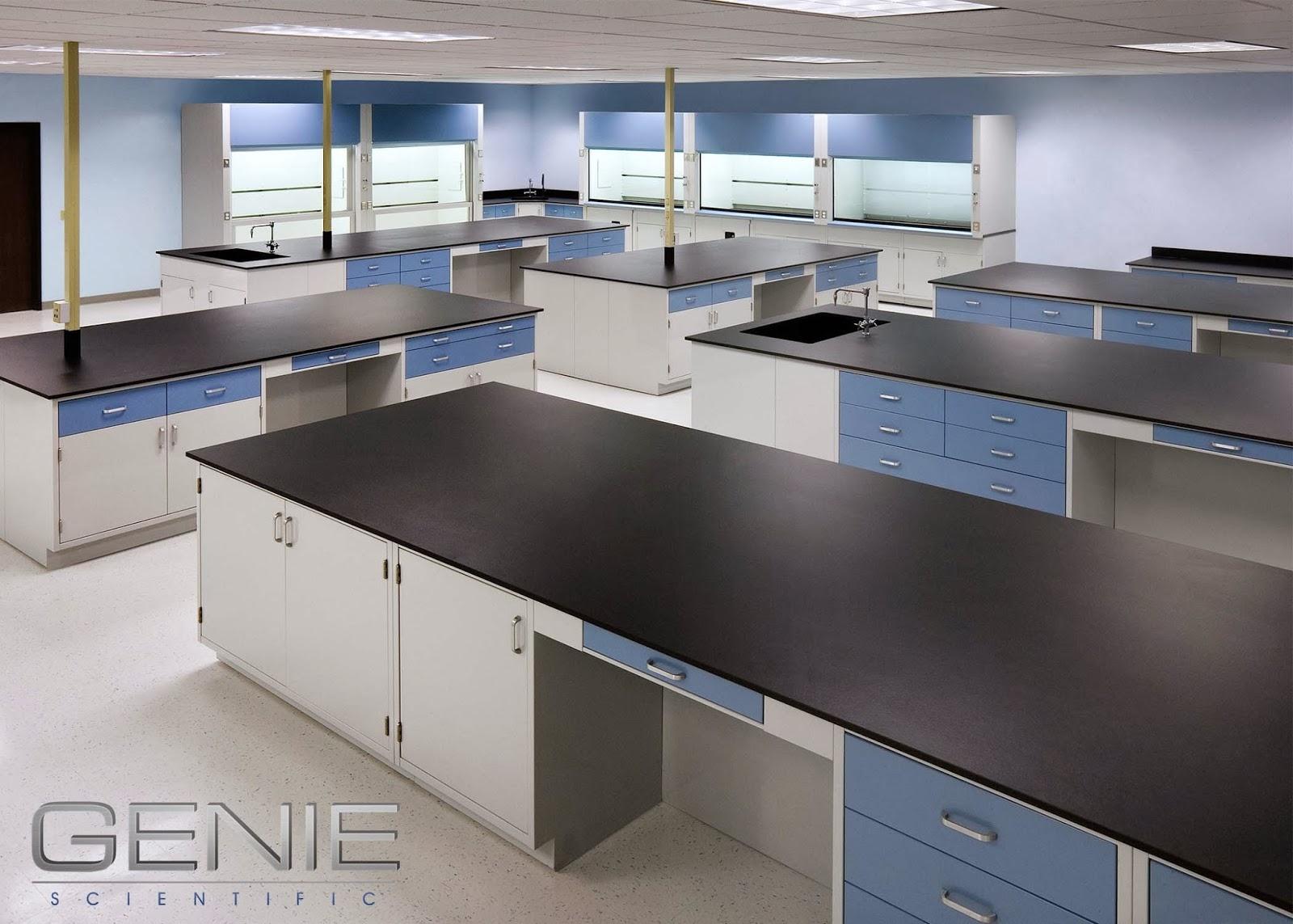 Countertop Material Used In Science Labs : Genie Scientific has been fabricating custom laboratory countertops ...