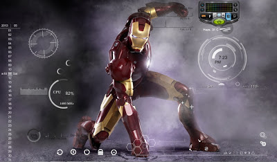 Download Theme Iron Man 3 for Windows All