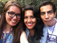 Reina, Adrián y Marloz