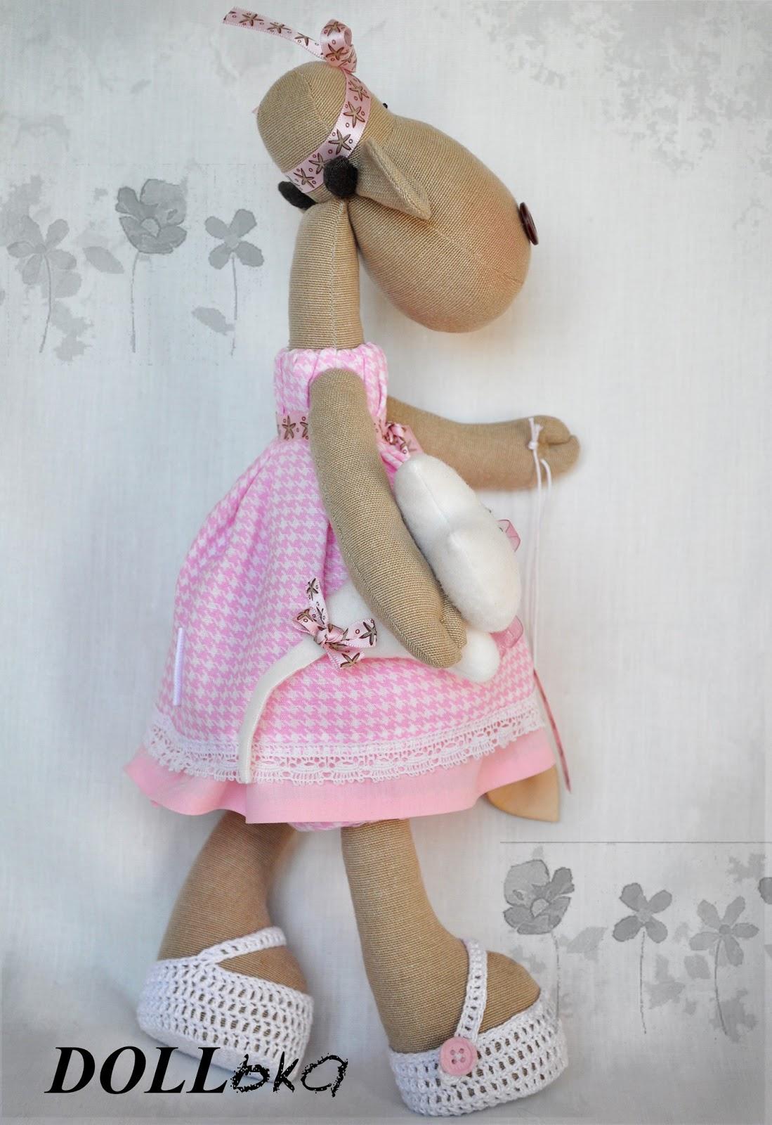 Коровка текстильные игрушки ручной работы