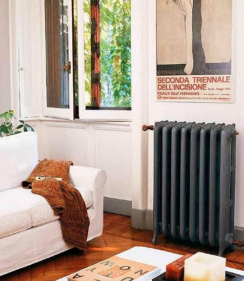 Marzua radiadores de fundici n pintados a todo color - Pintura para radiadores ...