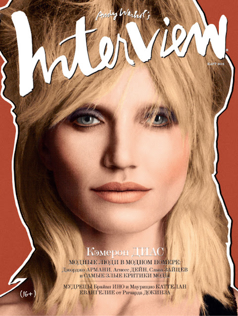 Cameron Diaz for Interview Russia March 2013