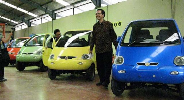 Mobil Listrik Gang Car