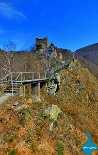 cetatea poenari paste 2015