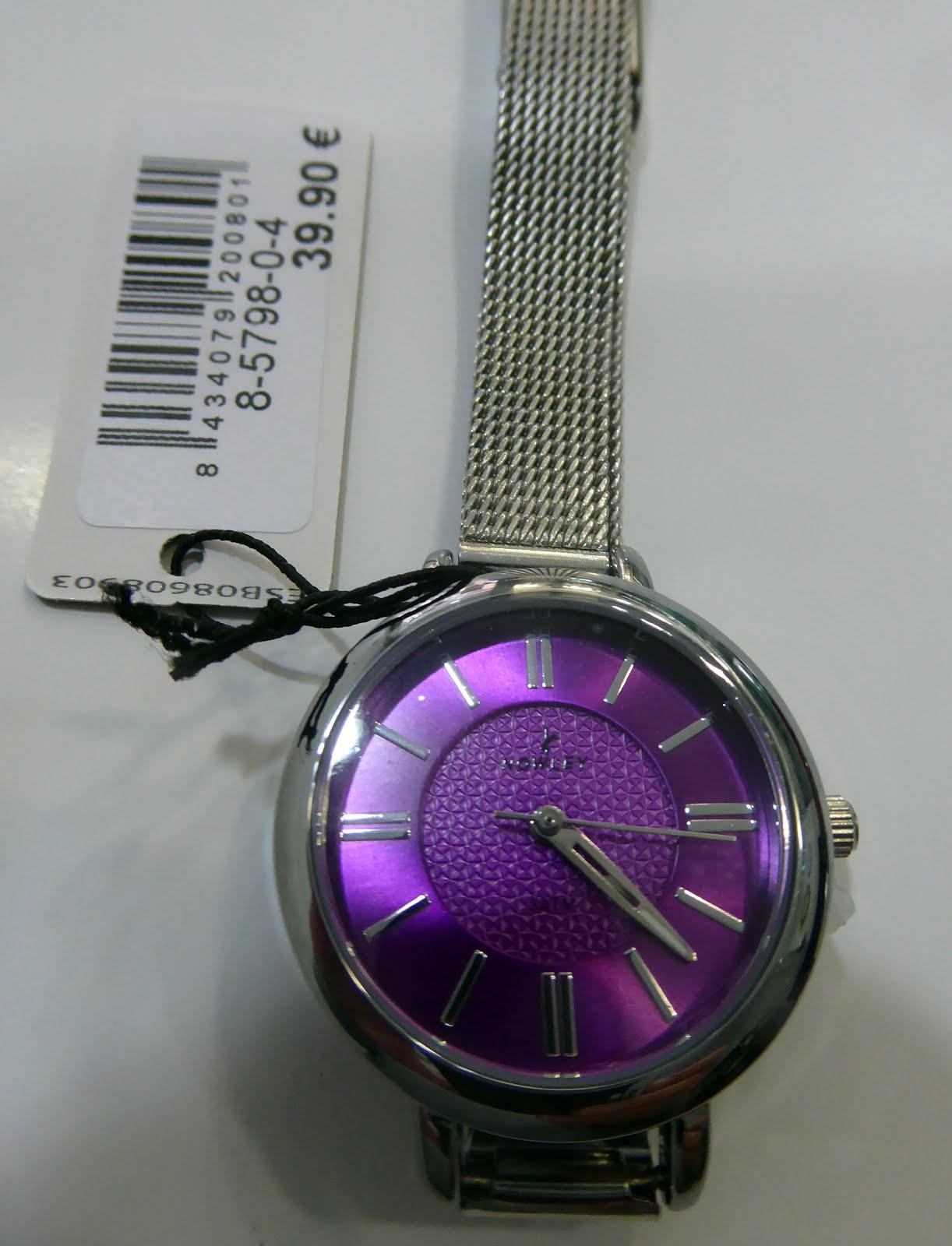Reloj Nowley señora acero